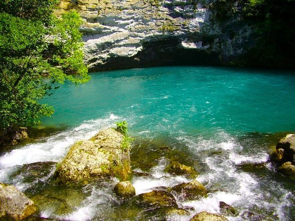 В Абхазию из Крыма - 6- Гегские водопады