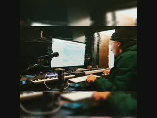 Slim и Каспийский на студии (17.12.2018)