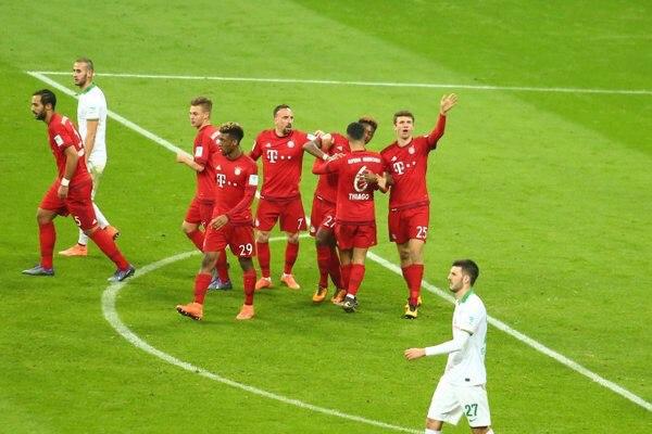 Бавария 5:0 Вердер