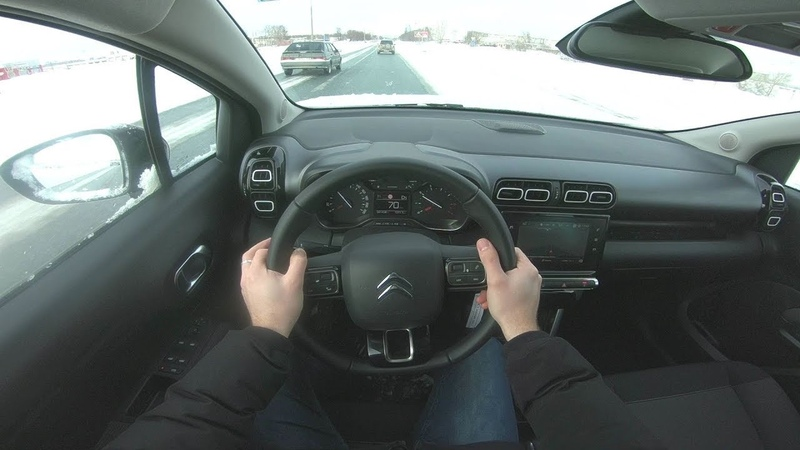 2019 Citroen С3 Aircross POV TEST DRIVE