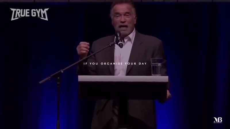 Речь Арнольда Шварцнегера