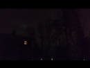 Огни в небе над Новосибирском.