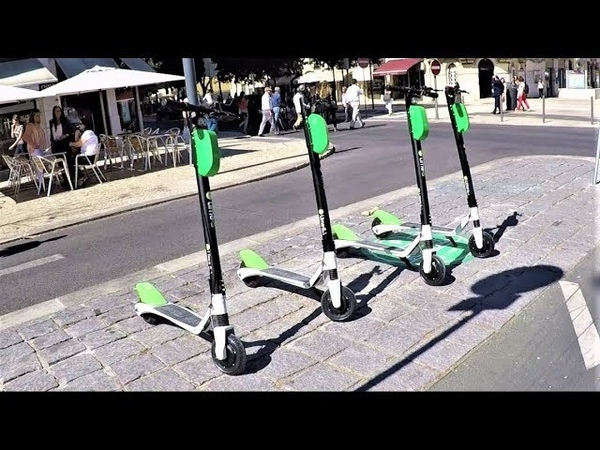 Lime Electric Scooter in Lisbon Review
