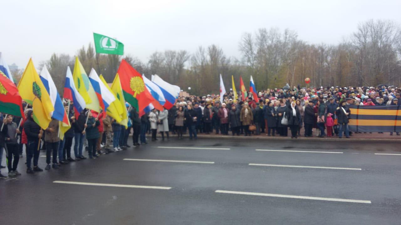 На площади Петра Великого липчане отмечают День народного единства — Изображение 1