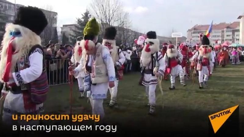 Медвежьи танцы Румыния.liw