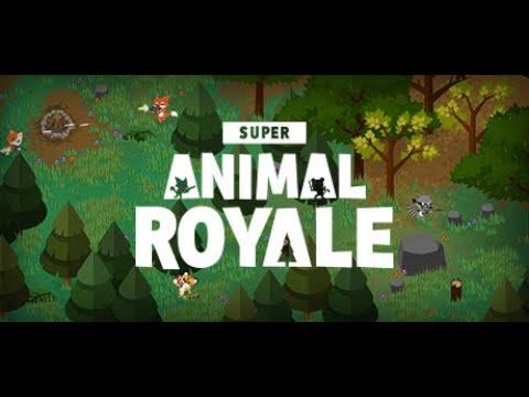 Играем в хорошую БАТЛ РОЯЛЬ. Super Animal Royale.