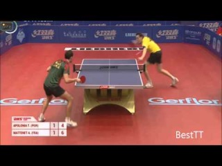 DHS 2014 Europe Cup APOLONIA Tiago vs MATTENET Adrien