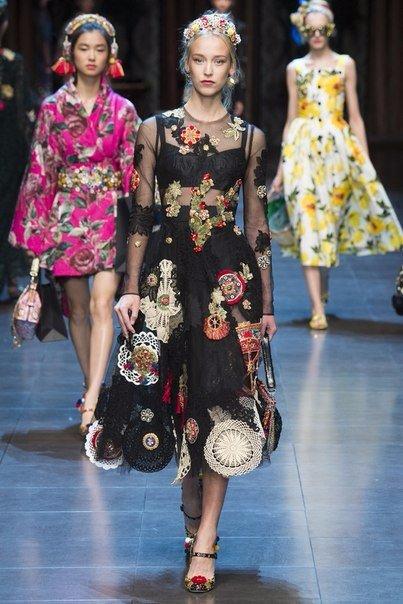 Dolce &amp Gabbana Весна-Лето 2016 (6 фото)