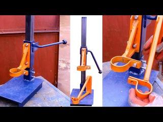 Самодельная стойка для дрели своими руками.Часть1.Homemade drill press