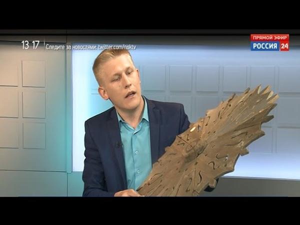 Секрет технологии изготовления деревянного кружева открыл для новосибирцев мастер из Колывани