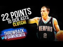Jason Williams Full Highlights 2004.03.29 at Hawks - 22 Pts, SiCK 10 Ast For CLUTCH White Chocolate!