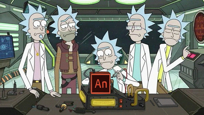 Создание персонажа для мультфильма в Adobe Animate