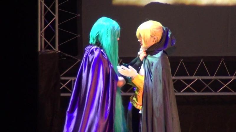 32)DRAGONFEST XIV - Sel, Vinsent. - Аллен, Микаэла. (Vocaloid Saga of evil.) 15.10.2017 (Самара)