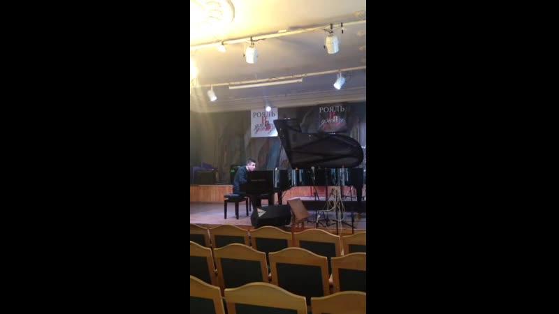 Руслан на конкурсе Рояль в джазе Номинация Параллельно с джазом I премия