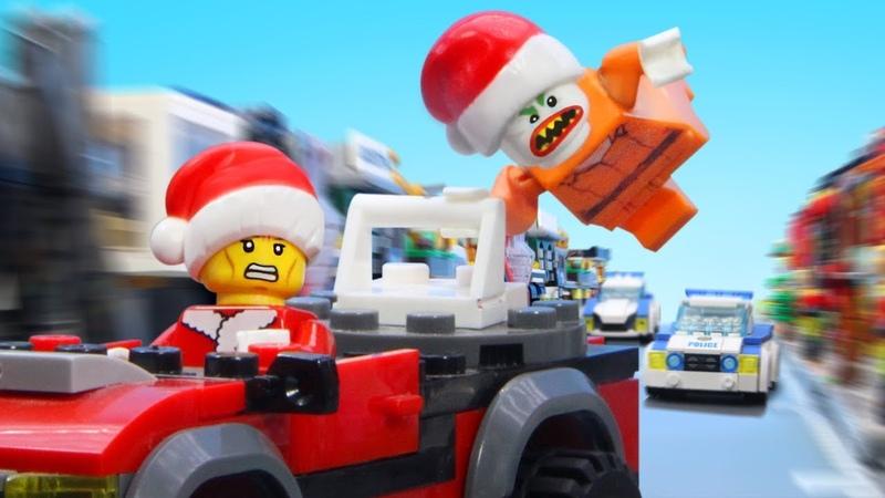 лего рождественское ограбление Lego Christmas Robbery Lego Robbery Stopmotion Film
