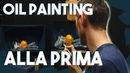 Oil Painting for Beginners/Intermediate - Painting ALLA PRIMA Step by Step DEMONSTRATION