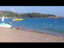 Турция-Аланья.Отель Gardenia Beach.Море.Пляж.Июнь 2018г.