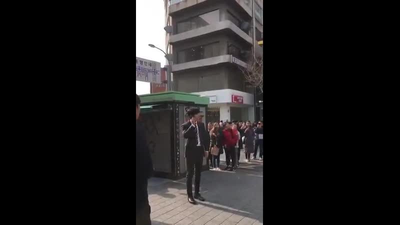190228 Siwon at filming location Siwon 최시원 崔始源 국민여러분