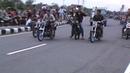 Jumping Lucu Sambil Berjalan Joki Herex Di Garis Start | Drag Bike