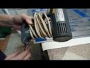 выпрямление заломов на пленке с помощью фена