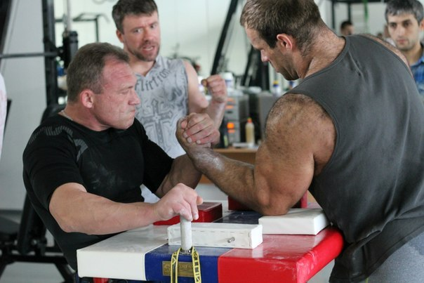 Denis Cyplenkov - Armwrestling Training 14 June 2014