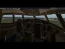 Посадка Boeing 777-300ER из кабины X-Plane 11