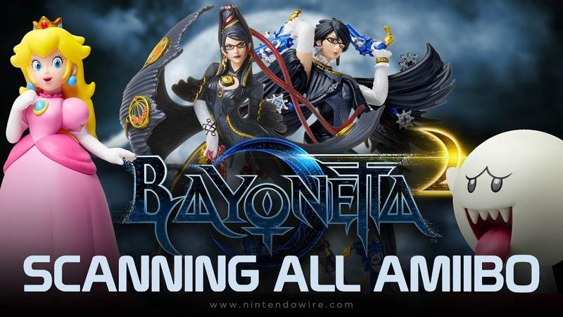 Bayonetta 2 Unlocking All amiibo Costumes and Weapons Nintendo Switch