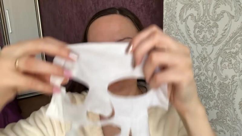Восстанавливающая тканевая маска для лица NovAge от Орифлэйм с гиалуроновой кис