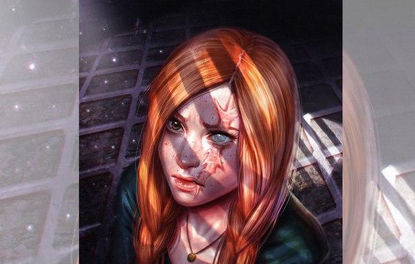 Она ждёт, и мерцают свечи в отражении сотни зеркал. Её шрамы время не лечит,