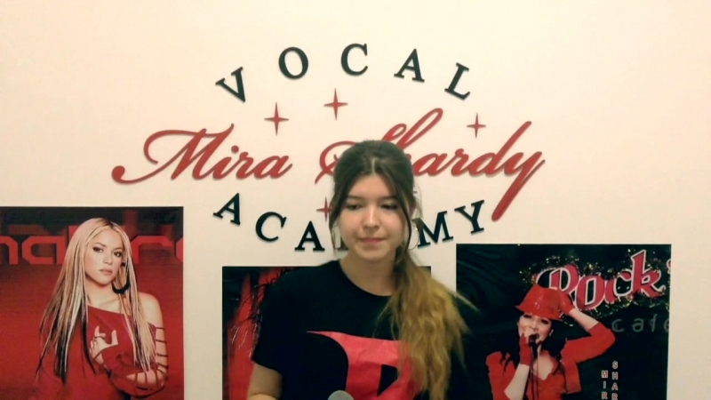 SHAKIRA GIZZA поёт для Миры Шарди TONIGHT (авторскую)