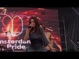 Dana International @ Amsterdam Gay Pride 2014