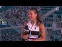 Daria Kasatkina - 2019 Miami Second Round Tennis Channel Desk Interview