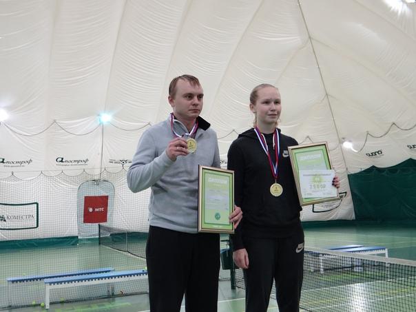 Чемпионат Томской обл. по теннису 2017
