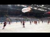 Прямой эфир с раскатки перед матчем с «Динамо» Рига