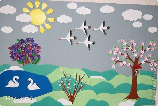 Весенние композиции своими руками для детского сада