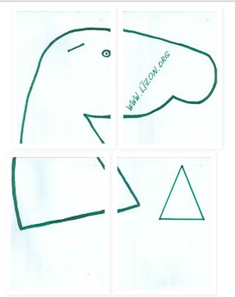 Как сделать выкройку лошадки