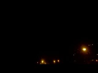 НЛО над Москвой на улице Гарибальди видео 1