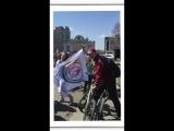 Вело-роллеро пробег глазами МС ДОРПРОФЖЕЛ на Красноярской ЖД (29.04.18)