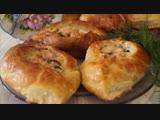 Пирожки с рыбой из быстрого дрожжевого слоеного теста. Просто и Вкусно!