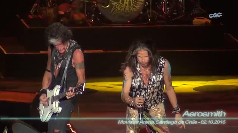 Aerosmith - Dude Looks Like a Lady ( Movistar Arena, Santiago de Chile - 02.10.16г..