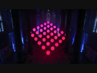 ELECTRIC MOONS - kinetic light installation by Christopher Bauder