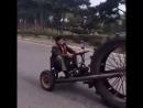 Самодельный трактор)))