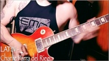 playing 10 different styles of guitar solo over the same riff