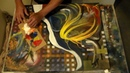 Abstract Art Compilation 1-Trick Painting in Acrylics with Music