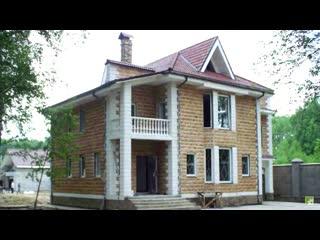 Дома из керамзитобетонных блоков: варианты отделки