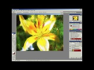 Уроки по Photoshop. Создание акварельного рисунка для фотографии