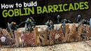 Goblin Barricades For D D Tutorial Black Magic Craft Episode 084