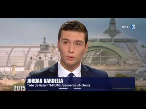 Jordan Bardella (FN) dans La Voie est Libre (Paris), édition spéciale Régionales - 28/11/2015