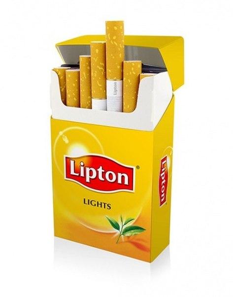 Сигареты липтон