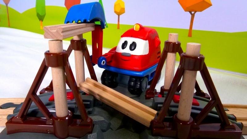 Giochi per bambini. L´isola dei treni Brio. Nuovi episodi
